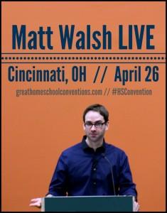Matt Walsh LIVE Cincinnati, OH