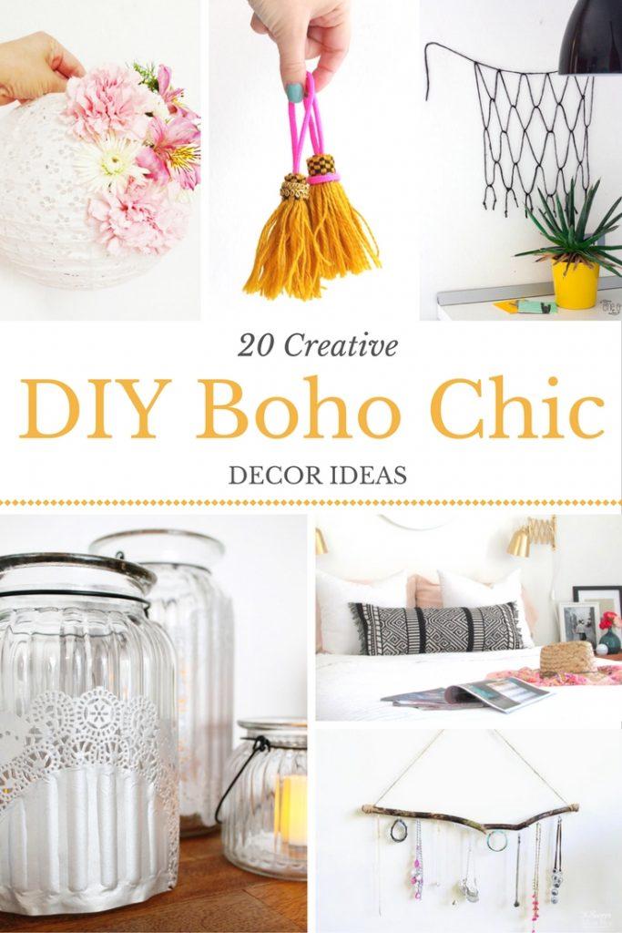 Boho Chic Diy Decor Inspiration She Lives Free